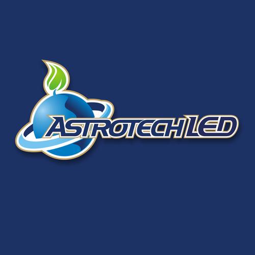 astrotech led logo design contest
