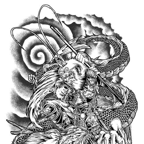Diseño finalista de MadMattIllustration