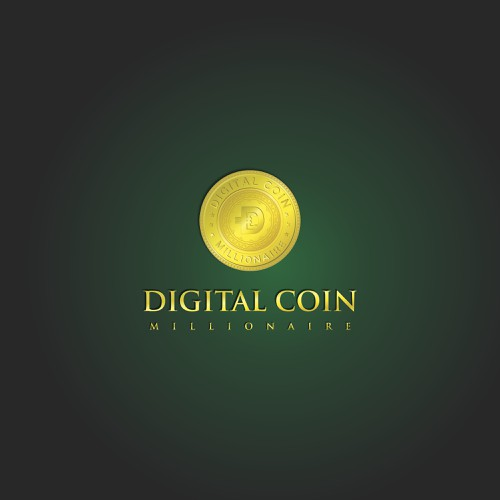 CryptoCoin Logo for #2 Digital Coin in the World | Logo ...