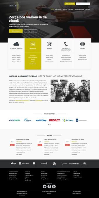 Design gagnant de Webthesign
