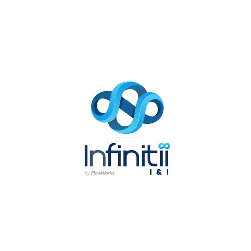 Create 3d Logo With Flow For Infinitii I I Water Analytics Software Logo Design Contest 99designs