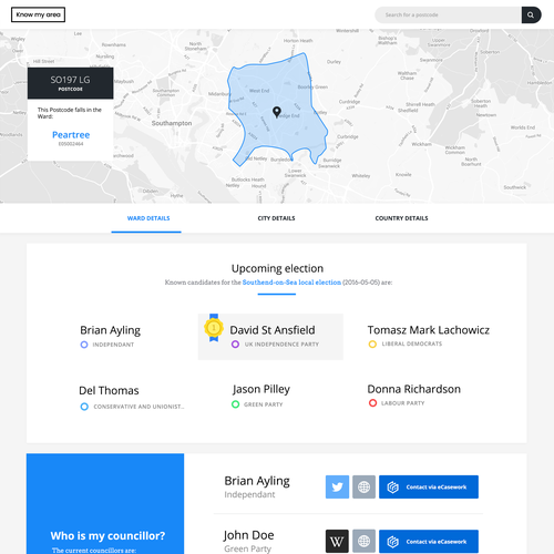 Green Start Web Page Site Map: Create A Simple, User Friendly Page Design For A Map/data