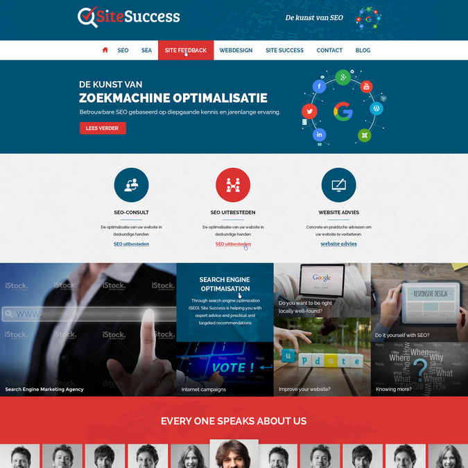 Create homepage design for Search Engine Marketing Expert | Web page design contest