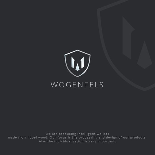 Logo For A Intelligent Wood Wallet Logo Design Contest