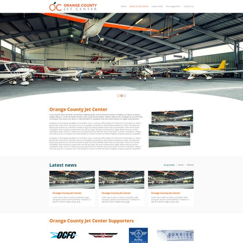 Runner-up design by Automex.website
