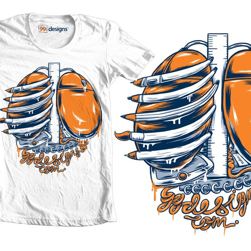 Create 99designs' Next Iconic Community T-shirt Design by 5PANELS