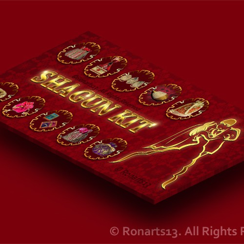 Diseño finalista de RonArts13