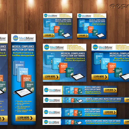 Web Banners For Software Company Banner Ad Contest 99designs