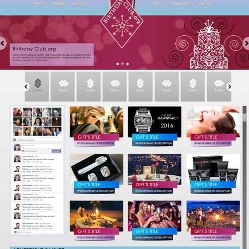 Diseño finalista de Complex Web Graphics