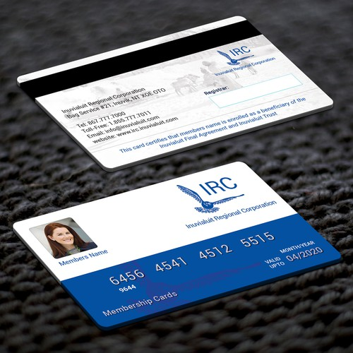 Designing Beneficiary Membership Cards | Business card contest