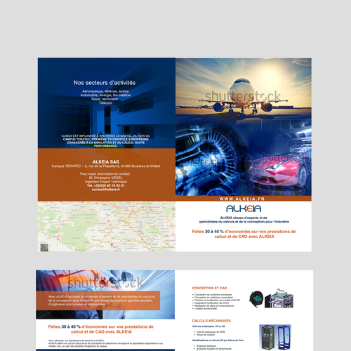 Technology Management Image: Create A Brochure With A Great Technical And Innovative