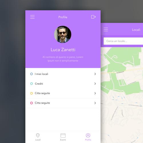 Ui design per app locali estivi in ios apple other art for App per design