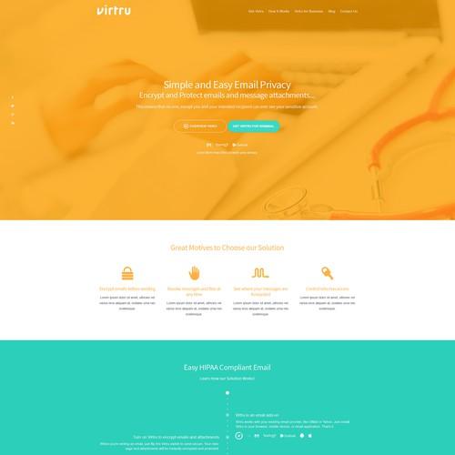 Runner-up design by WebBox