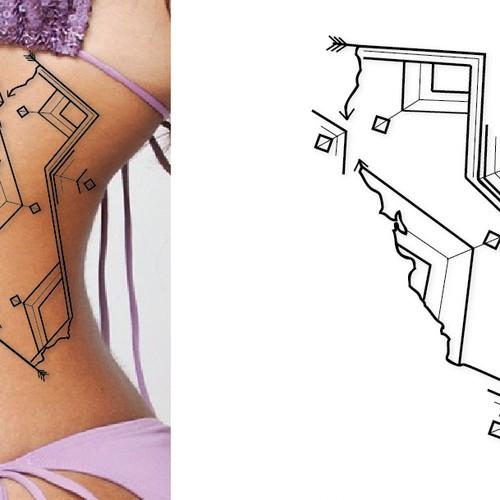 Diseño finalista de Meridian Graphics