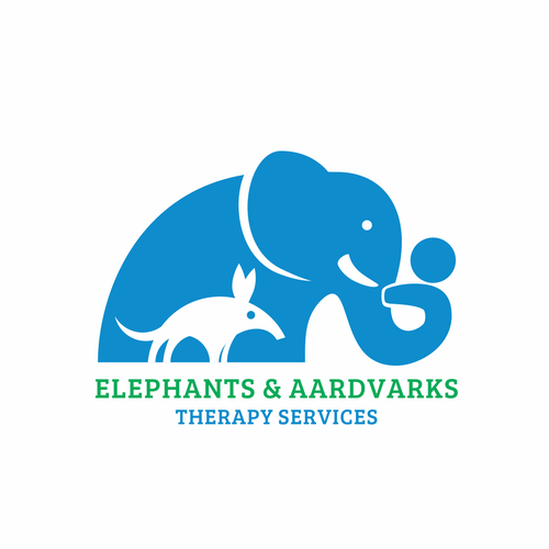 Elephants and Aardvarks helping sick kids in playful fun way. Design by LGMNTR
