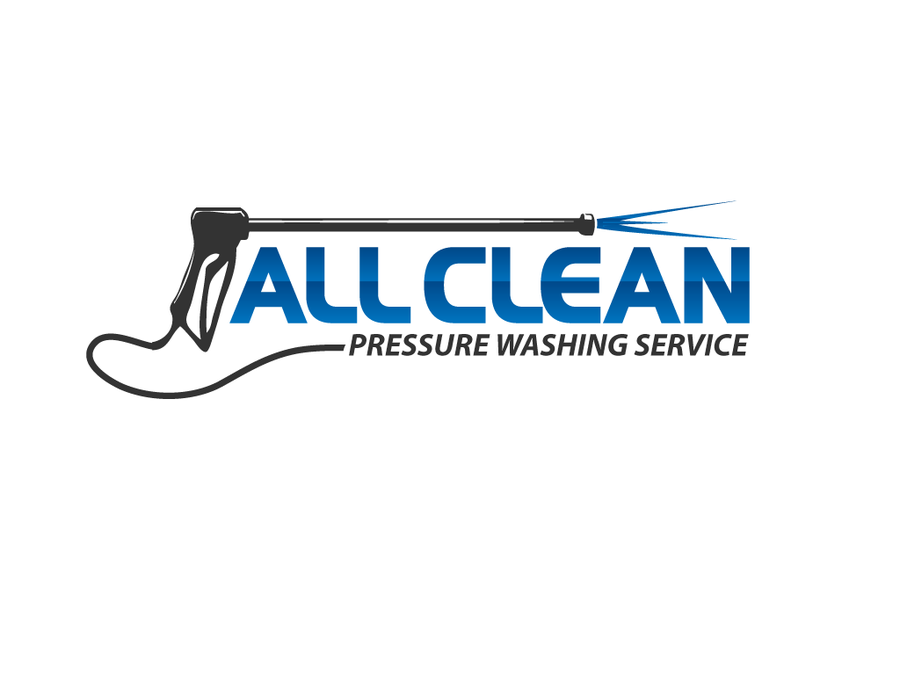 New Logo For A Pressure Washing Service Company Logo