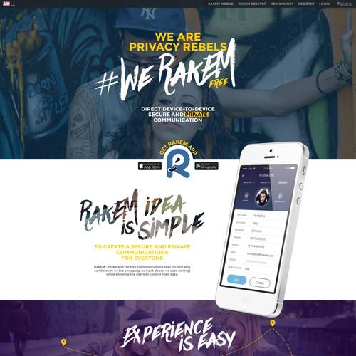 Runner-up design by 4fame