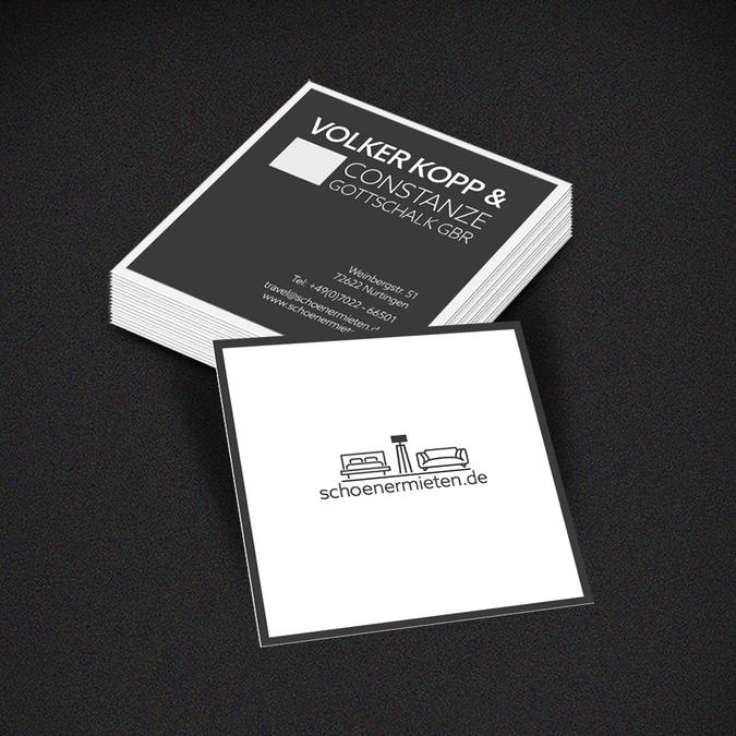 Erstelle Ein Logo Briefkopf Und Visitenkarte Für Hochwertig