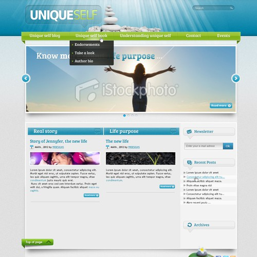 Runner-up design by Oxyde