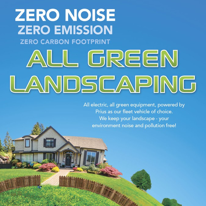 All Green Landscaping - Greenscape needs an attention grabbing flyer - All Green Landscaping - Greenscape Needs An Attention Grabbing Flyer