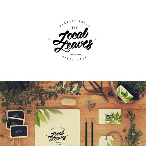 Help us push the frontiers of farming with a logo for Local Leaves! Design by Victoria Tsykalo