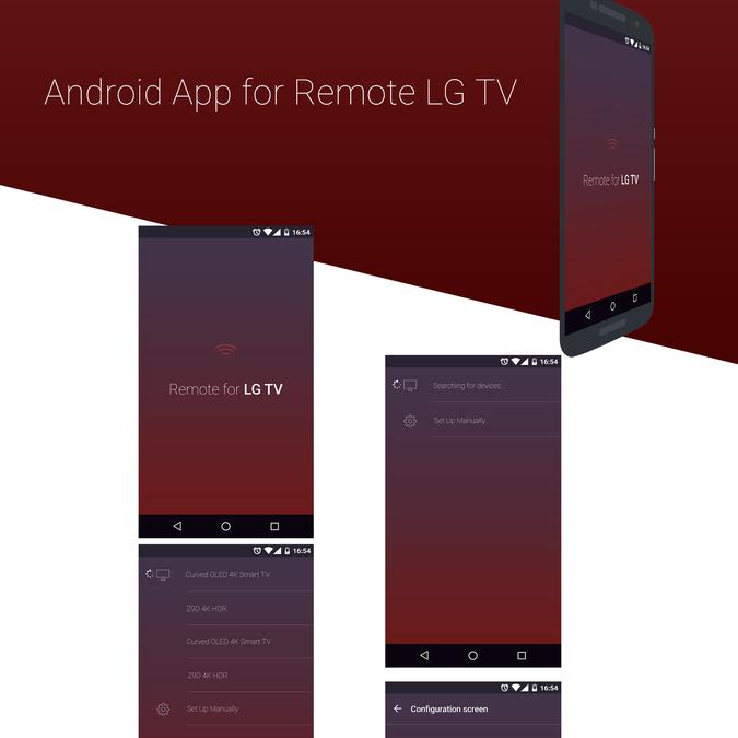 Design a remote control app for TVs | App design contest