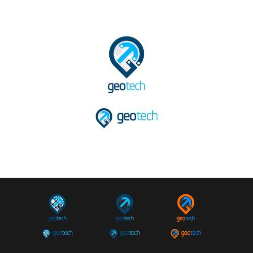 "Design a logo for ""GeoTech"" - IT Company Design by BIG Daud"
