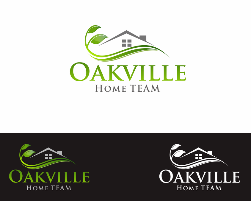 The Oakville Home TEAM needs a new logo and business card | Logo ...
