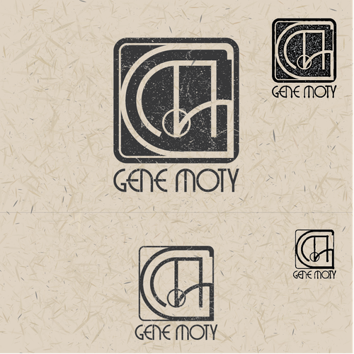 Create custom Vienna Secession Monogram style logo for and artist Design by AdinAB