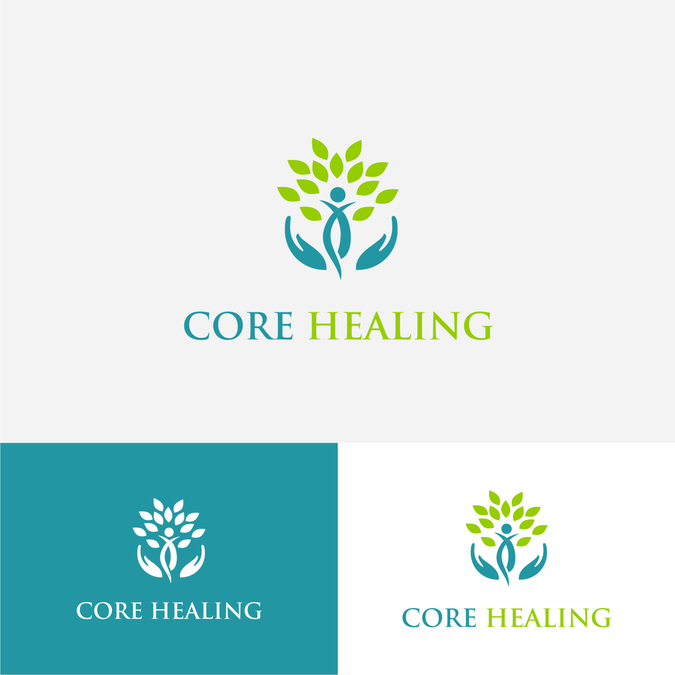 Design a abstract logo for a holistic healing center for Home decor logo 99design