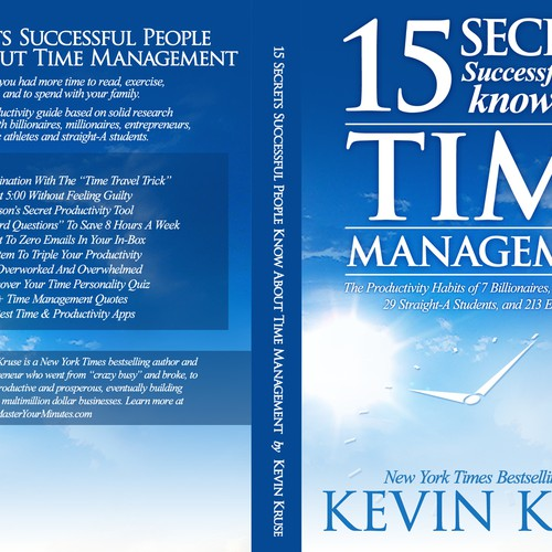 Exercise Book Cover Ideas : Book cover time management productivity secrets