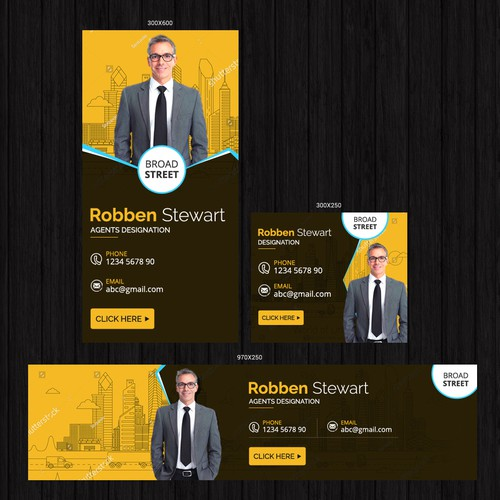 Banner Ad for Real Estate - Guaranteed Design by Deep_design
