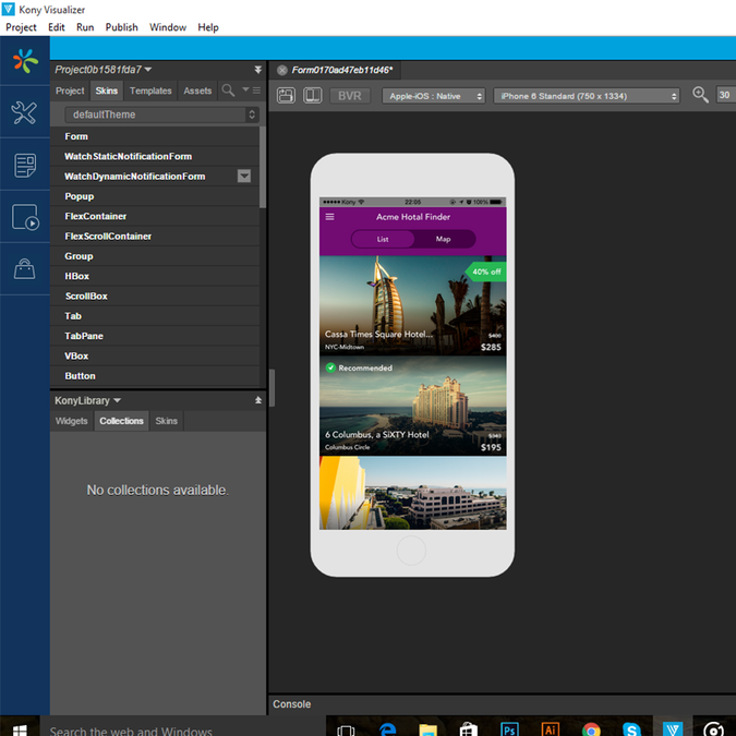 Home Design Ideas App: Design A Hotel Finder App Using Kony Visualizer 7