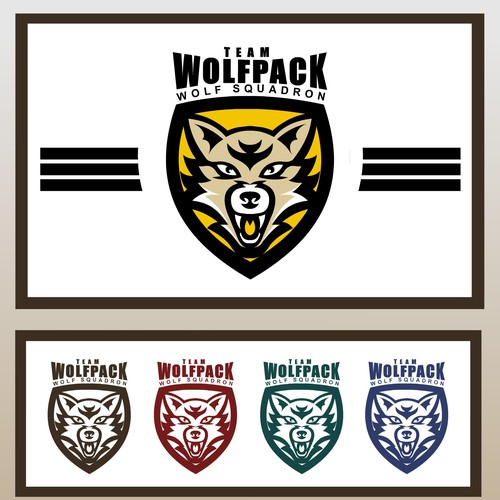 New logo wanted for Team Wolfpack | Logo design contest