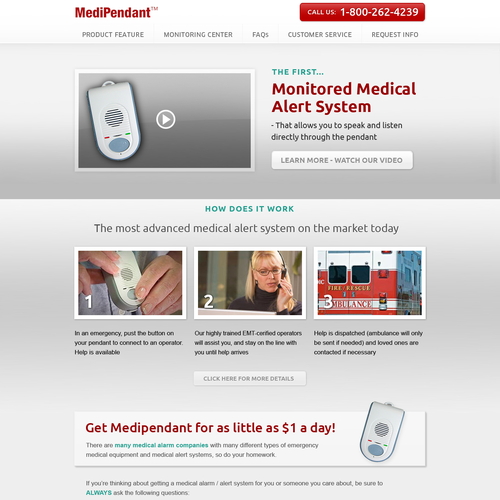 Help medipendant with a new website design web page design contest runner up design by nicejob aloadofball Choice Image