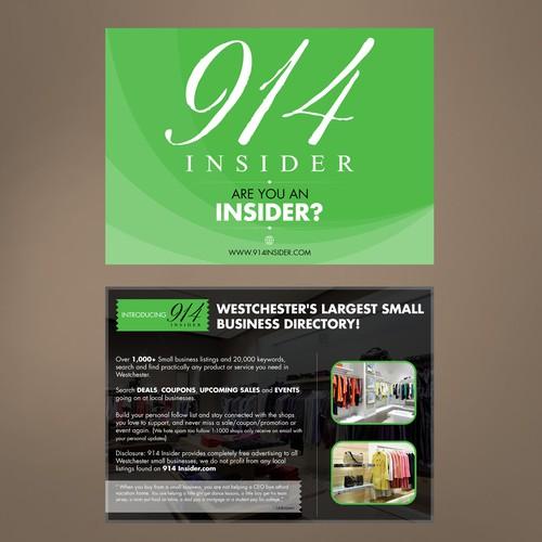 post card design Design by Creative P