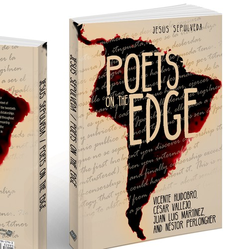 Poetry Book Cover Up : Design a unique cover for book analyzing latin american
