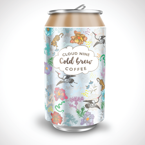 Cloud Nine Cold Brew Contest Design by curtis creations