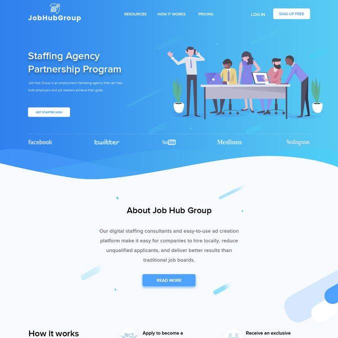 Winning design by FusionCloud ☁️