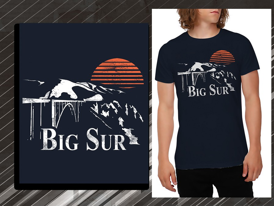 big sur t shirt t shirt contest. Black Bedroom Furniture Sets. Home Design Ideas