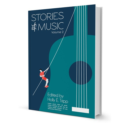 Music Book Cover Design ~ Stories of music volume book cover contest