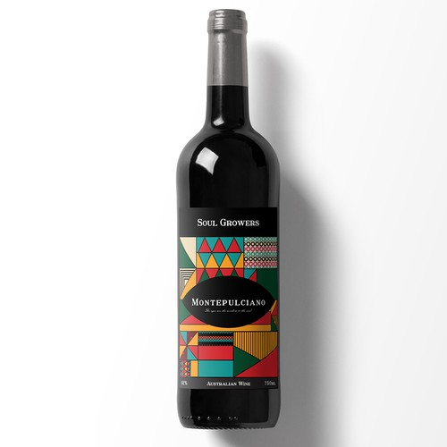 Fresh and Funky new label for Soul Growers Design by M5PET