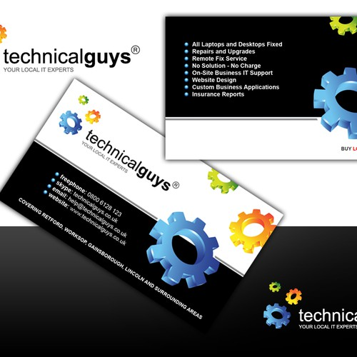 Logo and business cards for computerit company stationery contest runner up design by maloandjelce reheart Gallery