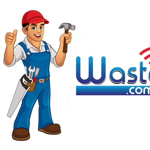 Cartoon Character Design Contest : Design corporate cartoon character mr waster