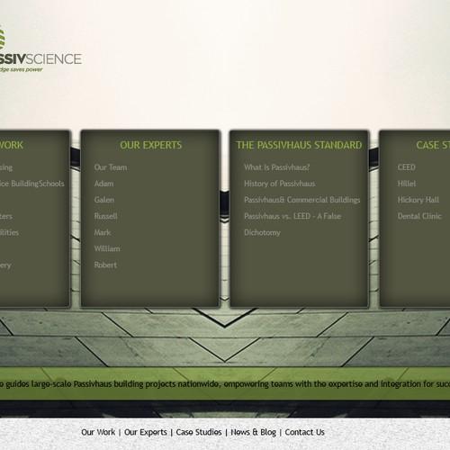 Runner-up design by weblectuals