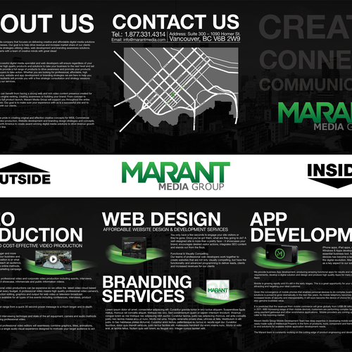 Diseño finalista de Mash Graphics