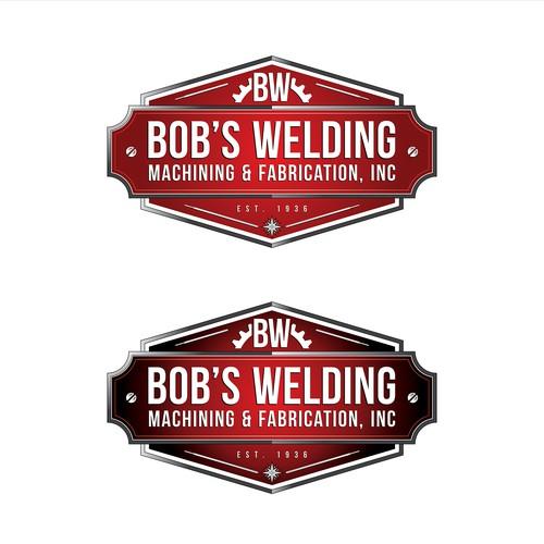 Fab Shop Logo: Logo For Bob's Welding, Machining & Fabrication, Inc