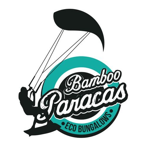 Logo - Bamboo Paracas Eco Bungalows Design por gustavog82