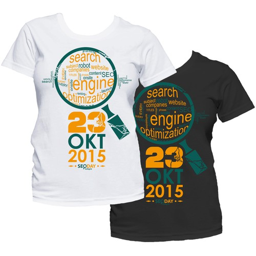 Creative & awesome t-shirt design wanted for SEO event in Germany Design von hanzjingan
