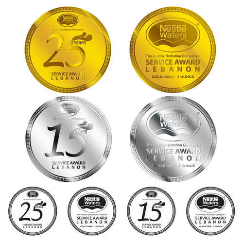 Nestle Waters | Commemorative Coins | Gold & Silver | Other design